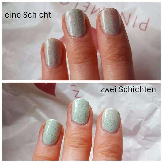 p2 cali vibes let's roll nail polish, Farbe: 020 creamy mint (LE) Schichten