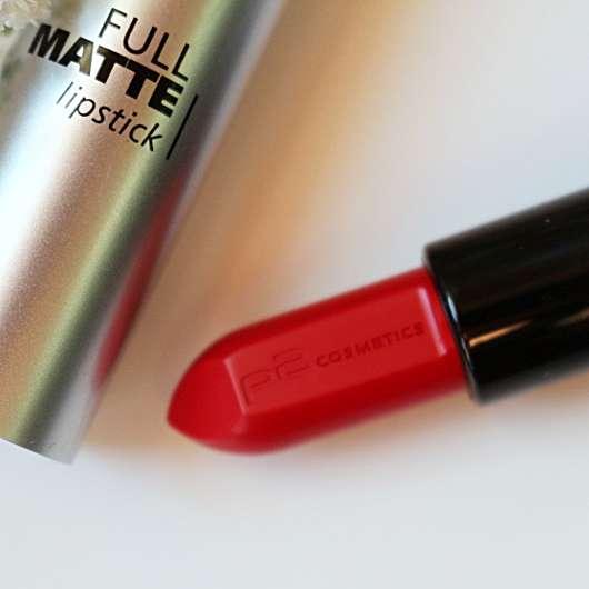 Farbe vom p2 full matte lipstick, Farbe: 010 spread knowledge