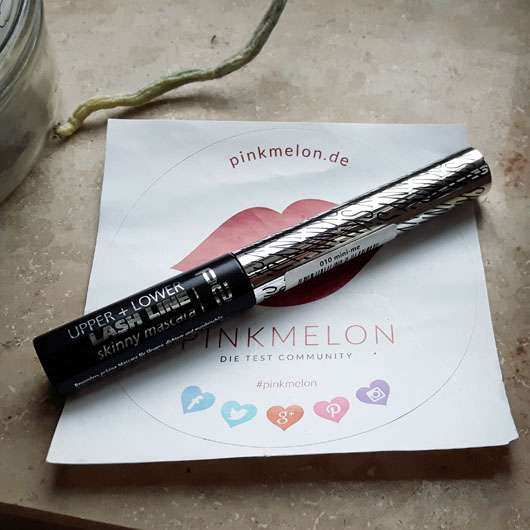 p2 upper + lower lash line skinny mascara, Farbe: 010 mini-me Design