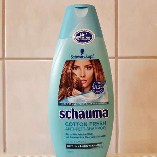 <strong>Schwarzkopf Schauma</strong> Cotton Fresh Anti-Fett-Shampoo