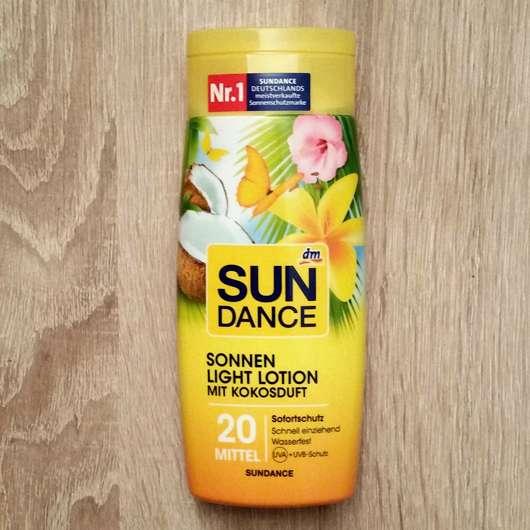 <strong>SUNDANCE</strong> Sonnen Light Lotion mit Kokosduft LSF20