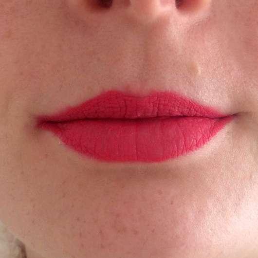 Lippen mit Urban Decay VICE LIQUID LIPSTICK, Farbe: Tryst