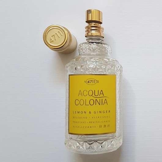 4711 Acqua Colonia Lemon & Ginger Eau de Cologne Pumpspender