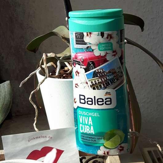 Verpackung vom Balea Duschgel Viva Cuba (LE)