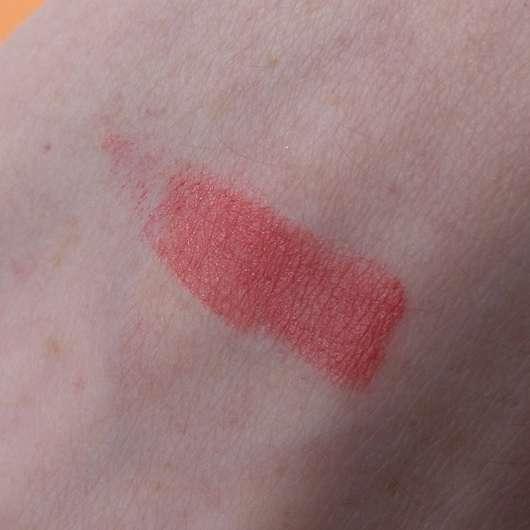 alverde Color & Care Lippenstift, Farbe: 08 Cherry Swatch