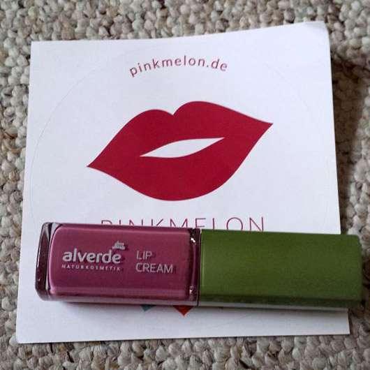 alverde Lip Cream, Farbe: 40 Lovely Violet