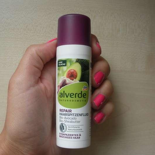 alverde Repair Haarspitzenfluid Bio-Avocado Bio-Sheabutter