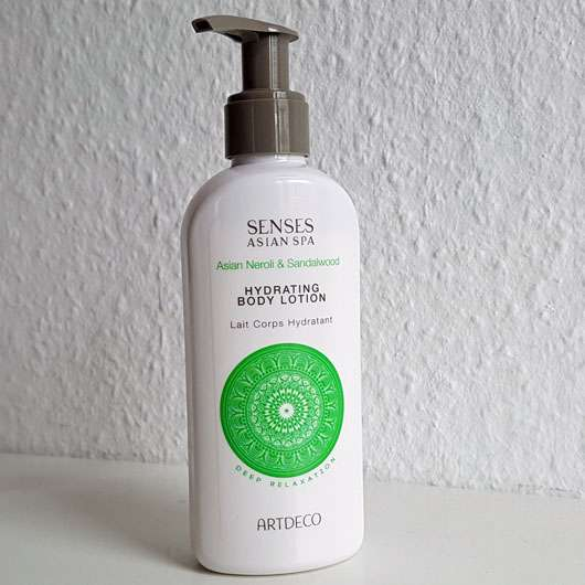 <strong>ARTDECO Asian Spa</strong> Deep Relaxation Hydrating Body Lotion