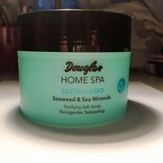 Douglas Home Spa Seathalasso Seaweed & Sea Minerals Purifying Salt Scrub Tiegel und Design