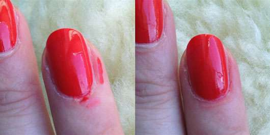 Douglas Nails Hands Feet Nail Polish Corrector Pen - Ergebnis nach Korrektur