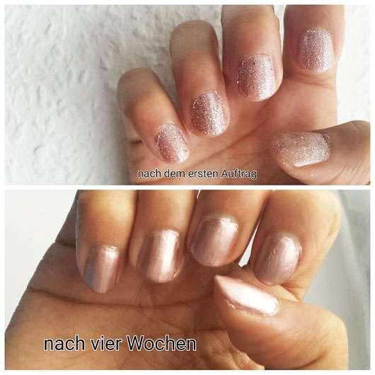 Douglas Nails Hands Feet Vitamin Nail Oil - Nägel während der Anwendung