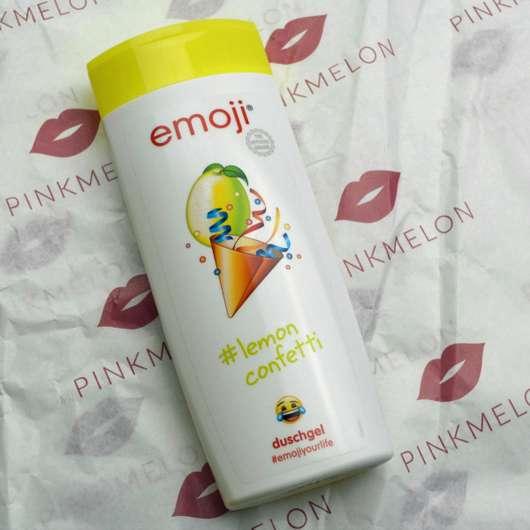 emoji Duschgel #lemon confetti
