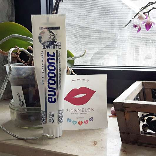<strong>eurodont</strong> Fresh & White Zahncreme
