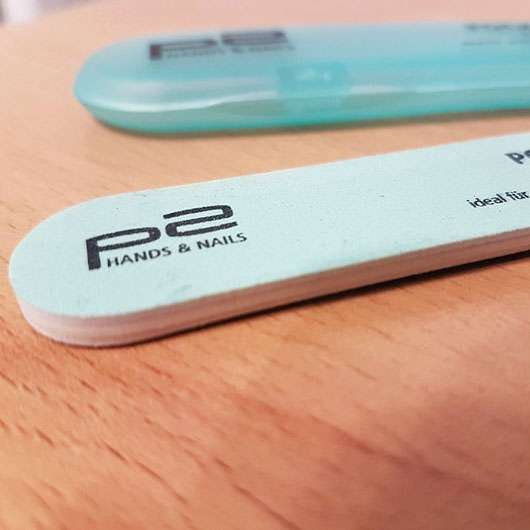 p2 pocket nail file - Körnung