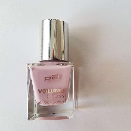 p2 volume gloss gel look polish, Farbe: 020 business woman Flasche
