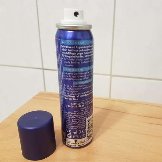 Schwarzkopf 3 Wetter taft Volumen Haarlack Ultra Stark Öffnung