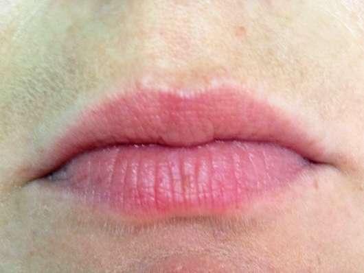 Sleek MakeUP Power Plump Lipstick, Farbe: 1049 Berry Burst Lippen vorher