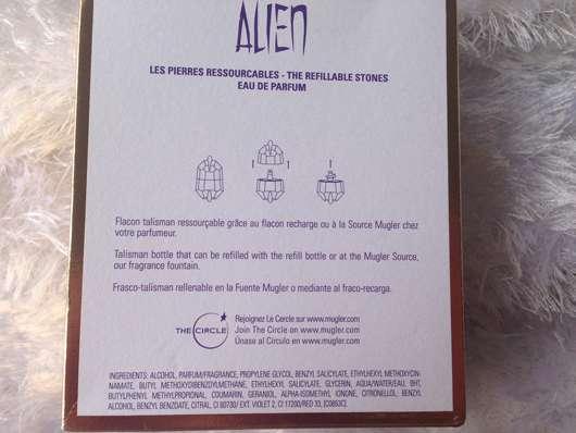 Thierry Mugler Alien Seducing Stone Eau de Parfum (LE) Herstellerangaben