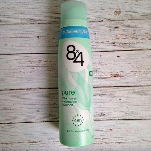 8×4 Pure Deodorant Spray