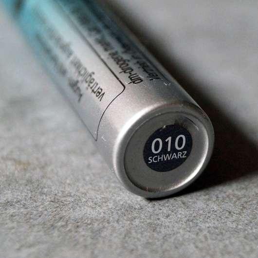Farbbezeichnung der alverde 12 hours long stay mascara, Farbe: 010 schwarz