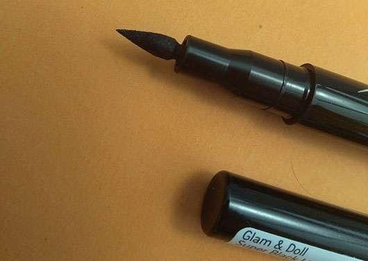 Catrice Glam & Doll Super Liner, Farbe: 010 Super Black - Stiftspitze