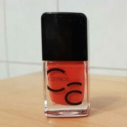 Produktbild zu Catrice ICONails Gel Lacquer – Farbe: 06 Nails On Fire