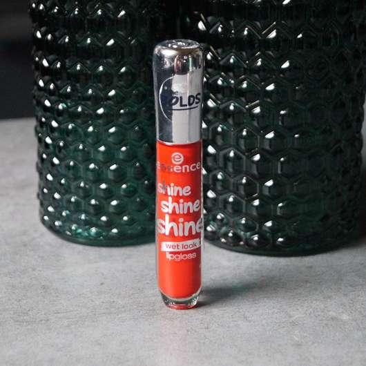 essence shine shine shine lipgloss, Farbe: 13 red carpet starlet Design