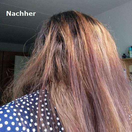 inecto Super Nourishing Coconut Shampoo - Haare nachher