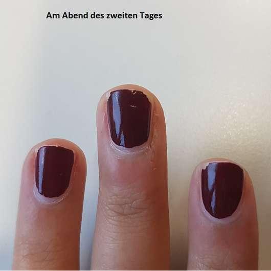 just cosmetics colorazzi nail polish, Farbe: 470 be elegant nach zwei Tagen