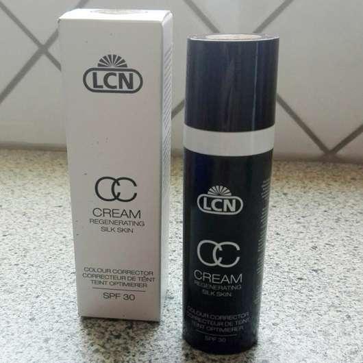 LCN CC Cream Regenerating Silk Skin, Farbe: soft caramel