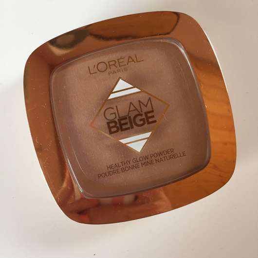 L'Oréal Paris Glam Beige Healthy Glow Powder, Farbe: 30 Medium Light Design