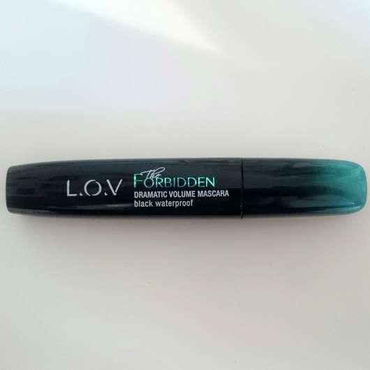 L.O.V The Forbidden Dramatic Volume Mascara Waterproof, Farbe: 110 Black Provocation - Flakon
