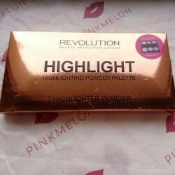 "Produktbild zu Makeup Revolution Highlighting Powder Palette ""Highlight"""