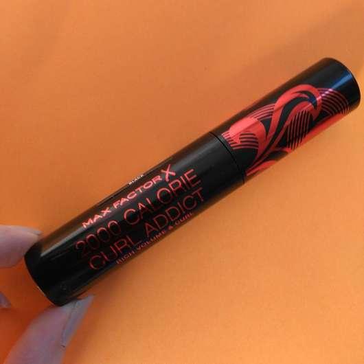 <strong>Max Factor</strong> 2000 Calorie Curl Addict Mascara - Farbe: Black