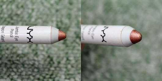 NYX Jumbo Eye Pencil, Farbe: 625 Sparkle Nude - Stiftspitze