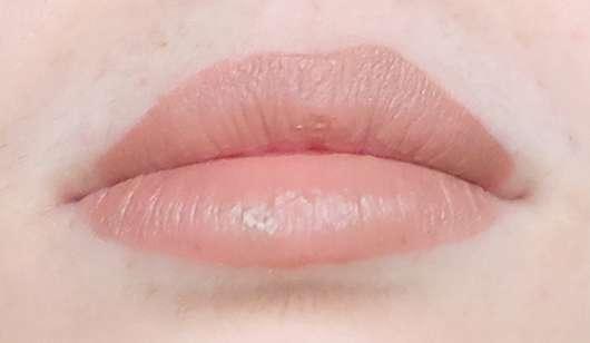 NYX Liquid Suede Cream Lipstick, Farbe: 07 Sandstorm frisch aufgetragen