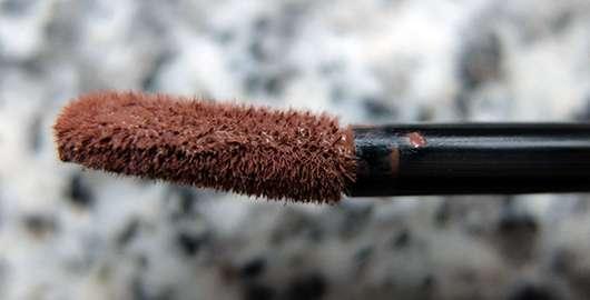 NYX Liquid Suede Cream Lipstick, Farbe: 07 Sandstorm Applikator