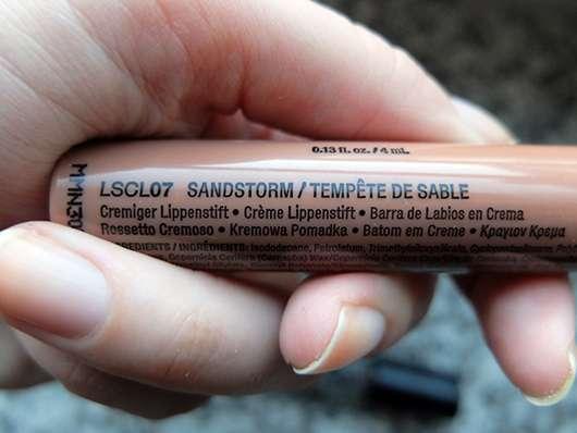 NYX Liquid Suede Cream Lipstick, Farbe: 07 Sandstorm Herstellerangaben