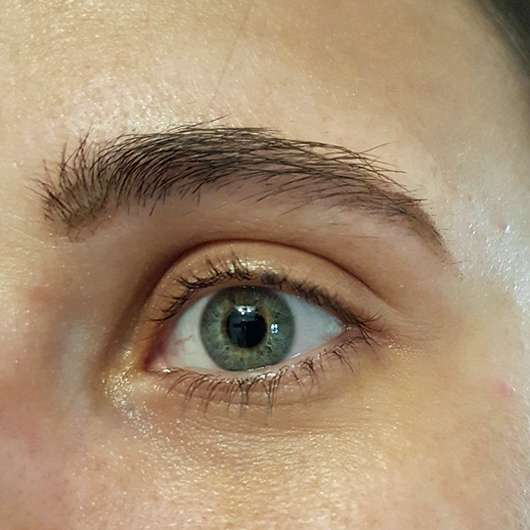 Augen-Make-up mit der p2 for the dreamers eye shadow palette