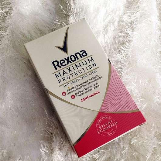 "<strong>Rexona</strong> Maximum Protection Anti-Transpirant Creme ""Confidence"""
