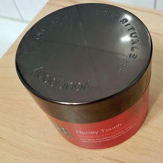 Rituals Honey Touch rich and nourishing body cream Deckel