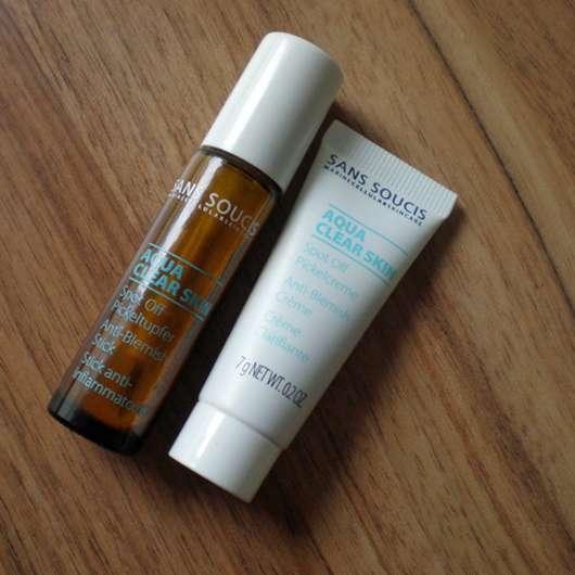 SANS SOUCIS Aqua Clear Skin SOS Pickel Set (LE)