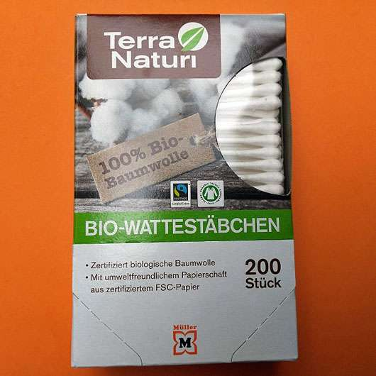<strong>Terra Naturi Naturkosmetik</strong> Bio-Wattestäbchen