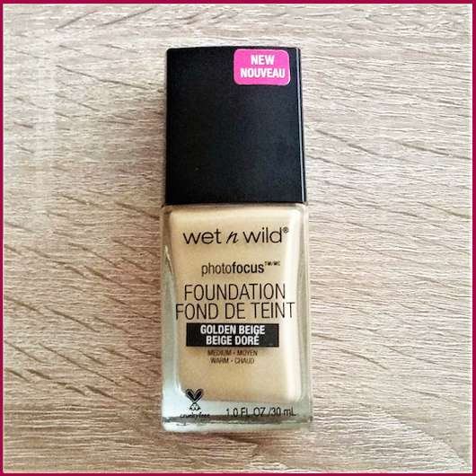 <strong>wet n wild</strong> photofocus Foundation - Farbe: Golden Beige