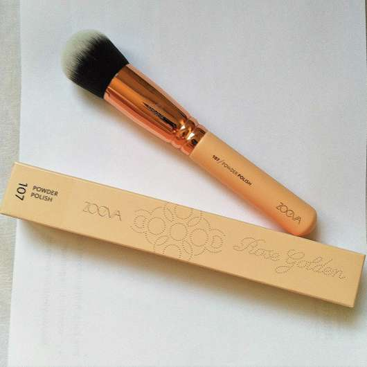 <strong>ZOEVA</strong> 107 Powder Polish Rose Golden Vol. 2