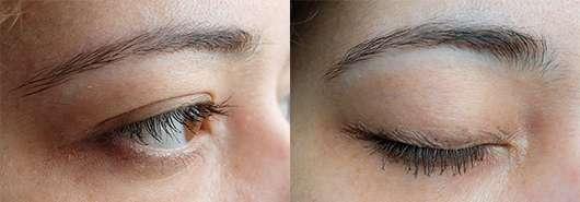 Wimpern mit der Dr. Pierre Ricaud Paris Mascara Cils Parfait, Farbe: Brun Profond