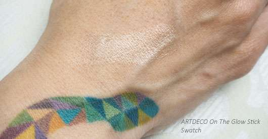 ARTDECO On The Glow Highlighter Stick Swatch