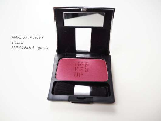 Make Up Factory Blusher Rich Burgundy geöffnet