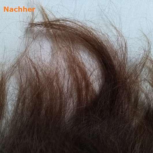 Haare nach Verwendung der Pureology Hydrate Hydra Whip Optimum Moisture Hair Masque