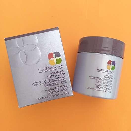 Verpackung der Pureology Hydrate Hydra Whip Optimum Moisture Hair Masque